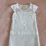 Шикарное платье H&M 8-10 лет. Красивое, ажурное, нарядное, праздничное платье для девочки.