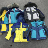 Зимняя детская куртка DAY, размеры 98 - 116