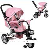 Велосипед-Коляска с поворотным сиденьем, надувные колеса M AL3645A. 3 расцветки.