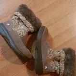 Фирменные зимние сапожки crocs