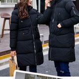 Мужская удлиненная зимняя куртка Аce 2 цвета AL7860