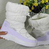 Сапоги зимние женские Timberland white