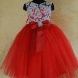 Нарядное пышное выпускное детское платье цвет любой