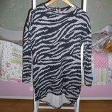 Стильное теплое платья-туника