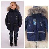 Зимняя куртка kiko 4635 для мальчика 110, 116, 122, 128, 164 р.