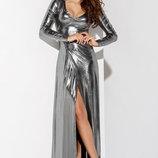 Смелое вечернее платье