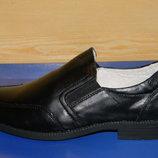 Кожаные туфли на мальчика 32р.-37р.