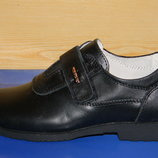 Кожаные туфли на мальчика 32р.-37р. Тм Olipas Kids Shoes