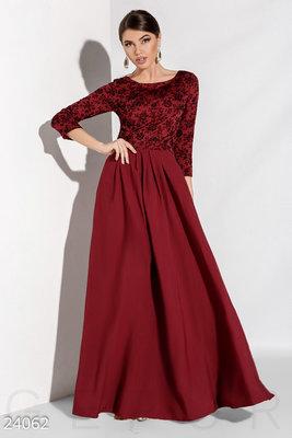 Эффектное длинное платье