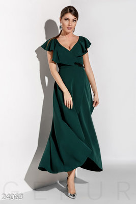 Длинное романтическое платье