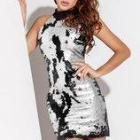Необыкновенное коктейльное платье