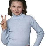 Гольф вязаный для девочки Тм Дайс , 104-110 см.