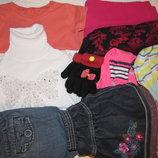 пакет одежды на девочку 2-3 года 92-98 рост 9 вещей
