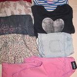 пакет одежды на девочку 5-6 лет 110-116 рост 9 вещей