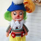 Кукла клоун Ари Ari Гдр Германия 10 см