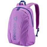 Рюкзак Reebok Foundation Medium Backpack BQ1235 Оригинал Фиолетовый цвет