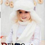распродажа. Зимний набор ушанка шарф отличного качества, новый,р.48