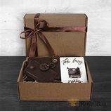 Набор для мужчины,путешественника БАРСЕЛОНА в подарочной упаковке