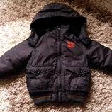 Продам зимннюю еврозима куртку от Early days на 9-12 мес, на рост ребенка 74 см. Состояние очень