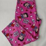 Флисовые пижамные штаны 18-20