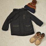 Теплое пальто Next р. 3 года.