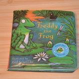 Freddy the frog, детская книга на английском для чтения и игры в ванной