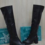 Женские кожаные сапоги зимние 36-40 р р