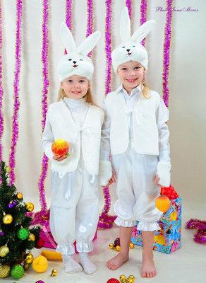 Карнавальный новогодний костюм зайчик медведь белочка лисичка медведь елочка гном снеговик пират дед