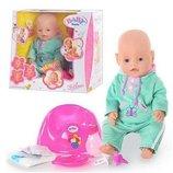 Кукла, пупс Беби Борн. Baby Born. 2 соски. BB 8001 А