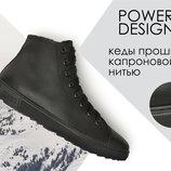 Мужские ботинки кеды кроссовки Power Design 100%