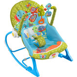 Fisher-Price Кресло-Качалка Друзья Слоненка Infant-to-Toddler Rocker Elephant Friends