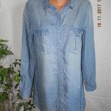 Джинсовое платье рубашка &denim
