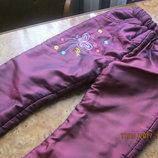 Продам теплі,зимові штани на дівчинку 5-7років