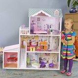 Кукольный домик с гаражом EcoToys 4108 wg Beverly Hills