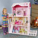 Кукольный домик с забором EcoToys 4107 FM California