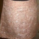 стильна рожева міні спідничка р42 Topshop