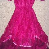 Нарядное эксклюзивное праздничное ,новогоднее платье на девочку.