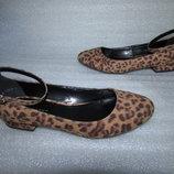 Красивенные Леопардовые Туфли Балетки ~NEW LOOK ~ р 36-37