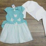 В наличии нарядные платья на девочек-98-116 р