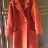 Пальто шерсяное