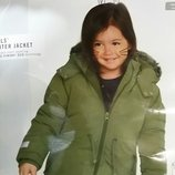 Зимняя тепленькая куртка-парка для девочки Германия
