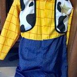 Детский карнавальный костюм Шериф Вуди на 7-8
