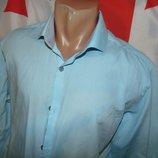 Стильная брендовая нарядная рубашка Sedarwood State м-л .