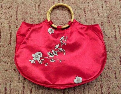 41494d3bc630 Яркая молодежная сумочка Сакура от Avon на кнопке, с ручками из бамбука