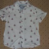 рубашка хб 3-4года