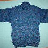 Вязаный красивый новый свитер на ребенка 4/5лет