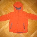 Фирменная куртка NEXT на 4года на рост 104см, оранжевая