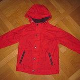 Куртка на флисе, утепленная ветровка - дождевик Next на 4-5лет, 110см