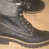 41р-27 см кожа зима ботинки Tamaris