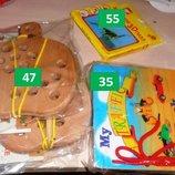 Деревянные игрушки с шнуровкой